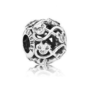 NEW Authentic Pandora Disney Mickey Infinity Charm